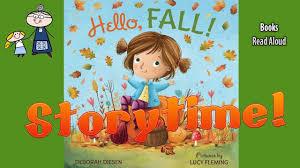 <b>HELLO FALL</b> Read Aloud ~ Bedtime Story Read Along Books ~ Kids ...