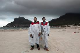 best new body of work on mop month of photography members of ilitye zion church of god after sunday ceremony hout bay beach david lurie
