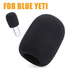 New Arrival <b>1pc</b> Foam Cover <b>Windscreen</b> Pop Filter for Blue Yeti ...
