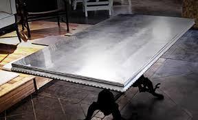 images zinc table top:  zinc table top bastille metal works slip cast