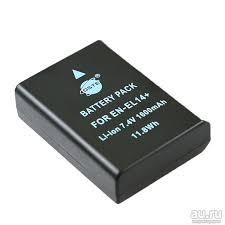 <b>Аккумулятор</b> (батарея) Dste 1600mAh <b>EN-EL14</b> /<b>EN-EL14</b>+/ 14A ...