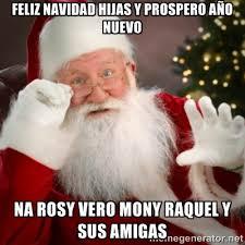 feliz navidad hijas y prospero año nuevo na rosy vero mony raquel ... via Relatably.com