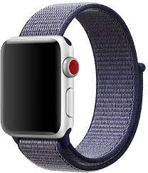 <b>Ремешок Apple Sport Loop</b> для Watch 38 мм (темно-синий)