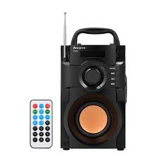 haoyes RS-A100 Wireless <b>Bluetooth Speaker Solid Wood</b> Speakers ...
