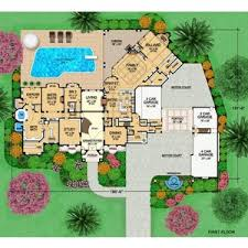 Villa Valente House Plan story  square foot  bedro    Villa Valente House Plan story  square foot  bedroom  full