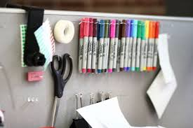 view in gallery everyday office supplies on a cubicle wall elegant decorating office cubicle walls