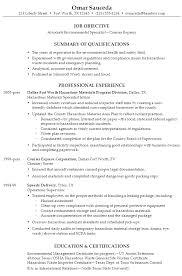 resume company example resume for entrepreneur sample resume associate environmental specialist company resume example
