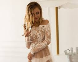 ivory ball gown long sleeves sheer back sweetheart lace