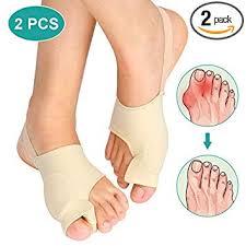 Gel Bunion Corrector Toe Straightener 1 Pair Set, Big ... - Amazon.com