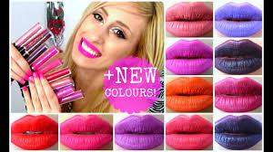 REVIEW / SWATCHES   ALL <b>MAKEUP REVOLUTION</b> LIP ...