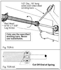 Image result for garage door springs