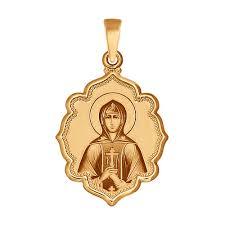 <b>Иконка</b> из <b>золота</b> «Святая праведница Анна» <b>SOKOLOV</b> – купить ...