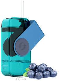 "<b>Бутылка</b> Asobu ""<b>Juicy drink box</b>"", цвет: голубой, 290 мл"