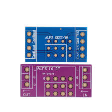 PCB board for EIZZ 3 Way 3 Positions Rotary Switch Signal Source ...