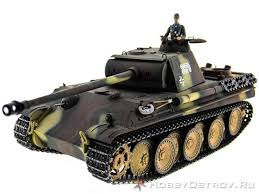 <b>Радиоуправляемый танк Taigen Panther</b> type G PRO 2.4GHz 1:16