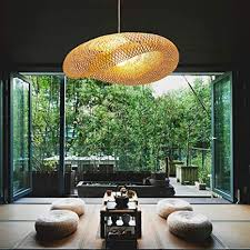 XNCH Pastoral Chandelier Southeast Asia Bamboo ... - Amazon.com