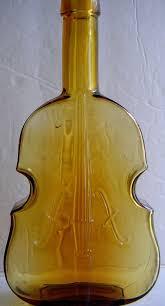 <b>Antique</b> Violin Bottle <b>American Style</b>. Decorative <b>Glass</b>,Decorative ...