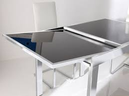 round glass extendable dining table:  glass dining table glass dining table best dining table ideas