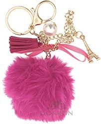 Pink - Keyrings & Keychains / Travel Accessories: Bags ... - Amazon.in