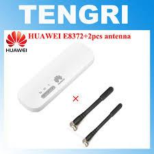 unlocked new huawei e8372 e8372h 608 plus antenna usb adapter 4g lte 150mbps wireless usb wifi modem