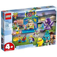 Купить <b>конструктор LEGO Toy</b> Story Парк аттракционов Базза и ...