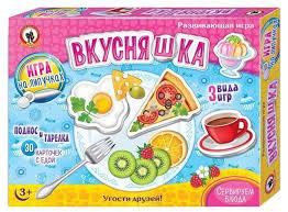 <b>Настольная игра Русский стиль</b> Вкусняшка — купить по выгодной ...