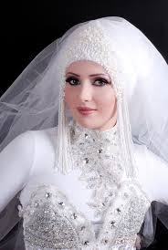 Image result for bridal with hijab