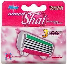 <b>Dorco Shai</b> - 3 Boxes of Three Blade Razor Cartridges by Dorco ...
