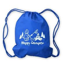 Happy Camper Boy Nylon <b>Cinch Sack</b>   Mountain <b>Graphics</b>   Free ...
