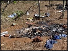 Resultado de imagem para aldeias queimadas