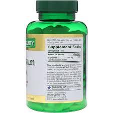 <b>Магний</b>, <b>500 мг</b>, <b>200</b> таблеток в оболочке - iHerb.com