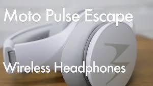 <b>Motorola Pulse Escape</b> Budget <b>Wireless</b> Bluetooth Headphone ...
