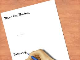 how to end a letter sincerely 8 steps pictures wikihow