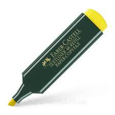 <b>Маркер</b> текстовый <b>Faber</b>-<b>Castell Textliner REFILL</b> 1548 желтый ...
