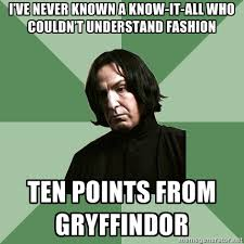 Sassy Gay Snape via Relatably.com