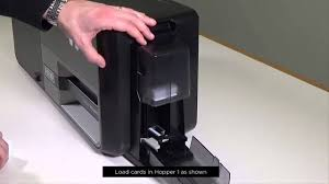 <b>FARGO DTC5500LMX</b> How to setup your card printer - YouTube
