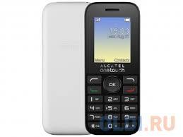 <b>Мобильный телефон Alcatel OneTouch</b> 1020D White — купить по ...