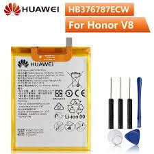 <b>Original</b> Phone Battery For <b>Huawei</b> Honor V8 HB376787ECW ...