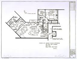 Artists Make Floor Plans of Popular TV and Movie Houses   pics     Artists Make Floor Plans of Popular TV and Movie Houses