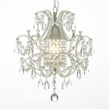 wrought iron and crystal white chandelier pendant chandelier pendant lighting