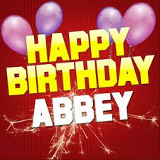 Image result for happy birthday abbey