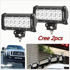 <b>2pcs</b> 7inch 36W CREE <b>Led Work Light</b> Bar Flood Beam SUV Offroad ...