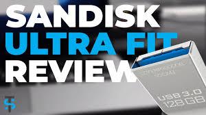 SanDisk Ultra Fit <b>128GB USB</b> 3.0 <b>Flash Drive</b> Review - YouTube