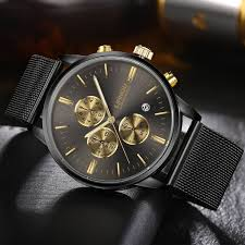 <b>LIANDU</b> Gold Black Luxury <b>Fashion</b> Watch for <b>Men</b> | <b>Men in</b> 2019 ...