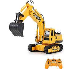 RCtown <b>RC Truck</b> Excavator Construction Digger Wireless ...