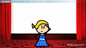 fundamental attribution error definition overview video actor observer bias examples summary