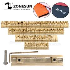 ZONESUN <b>Custom Logo</b> Leather Stamp Hot Brass Branding <b>Iron</b> ...