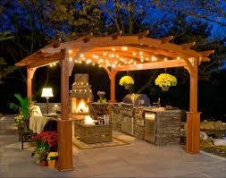 gallery outdoor kitchen lighting: share exterior gazebo kitchen string lighting and floor lamp ideas outdoor lights outdoor lighting fixtures gallery