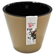 «<b>Горшок цветочный</b> «Фиджи» жёлтый 16 л 330 мм, пластик, с ...