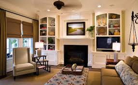 lorraine vale inspiration for a timeless living room remodel in charleston with a standard fireplace and built living room